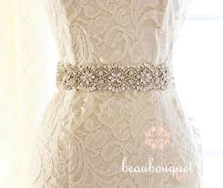 wedding sashes and belts swarovski bridal sash belt bridal beaded sash