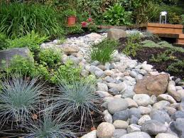 dry creek bed landscaping ideas designs ideas and decor