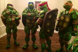 Halloween Costumes Ninja Turtles Homemade Ninja Turtles Costumes Xpost Halloween Pics
