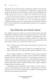examples of core strengths for resume 201 knockout answers to tough interview questions american management association www amanet org 9