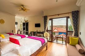 superior triple bed room beyond yangon boutique inn siem reap