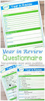 year in review questionnaire free printable the resourceful mama