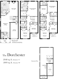 dorchester 2000 sq ft centerville westin homes