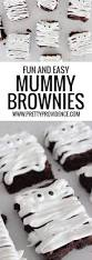 Halloween Mummy Cakes Easy Mummy Brownies