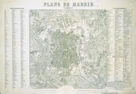 Plano Map File Plano De Madrid En 1866 Jpg Wikimedia Commons