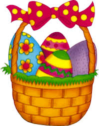 basket easter free easter basket clipart