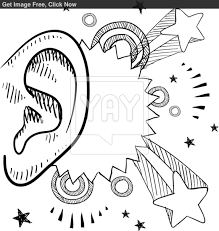 of ears free coloring pages on art coloring pages