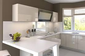 peinture cuisine meuble blanc couleur peinture cuisine avec meuble blanc idée de modèle de cuisine