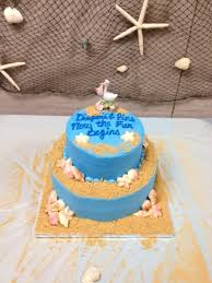 beach theme baby shower cakecentral com