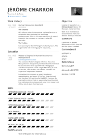 Sample Human Resource Resume by Marvelous Human Resource Assistant Resume 84 In Resume Sample With