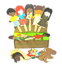 all the world u0027s a stage green kid crafts one world puppets the