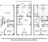 Three Story Townhouse Floor Plans 11 40 By House Plans Floor Joy Studio Design 30 South Facing