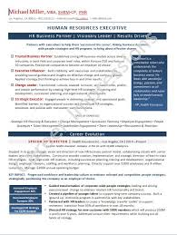Hr Business Partner Resume Sample by Career Impressions Canadian Resume Writing Calgary Executive