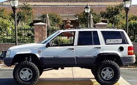 jeep cherokee prerunner jeep grand cherokee 4x4 project zj part 38 custom 2x6 steel rock