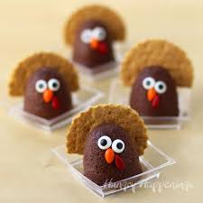 cocoa banana turkeys healthy thanksgiving dessert