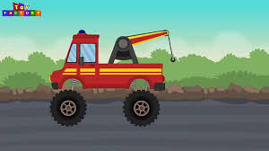 police car wash cartoons children ambulance fire trucks wash