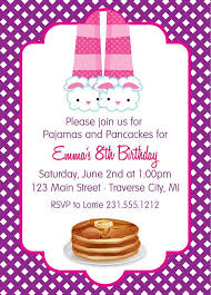 11 best pj party invite images on pinterest pajama party