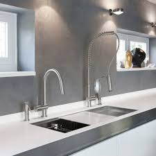 kitchen grohe kitchen faucets with breathtaking grohe wall mount