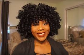 curling rods for short natural hair 9 ways to curl afro textured hair without heat according to