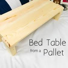 how to make a bed table build a breakfast in bed wood table diy project the homestead survival