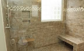 Walk In Shower With Bench Seat Shower Marvelous Walk In Shower Glass Block Dreadful Walk In