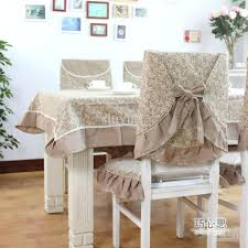 Dining Room Chair Slipcover Patterns Diy Dining Chair Slipcovers From A Tablecloth Seat Slipcover