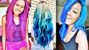Pretty Colors To Dye Your Hair Beautiful Best Multicolored Hairstyles To Charm Your Looks Youtube