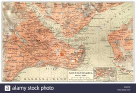 Bosphorus Strait Map Map Of Istanbul Stock Photos U0026 Map Of Istanbul Stock Images Alamy