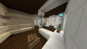 minecraft modern house building 5 kitchen dining room