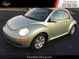 convertible volkswagen beetle used 2007 used volkswagen new beetle convertible at enter motors group