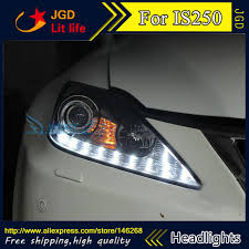 lexus is300 headlight assembly aliexpress com buy free shipping car styling led hid led