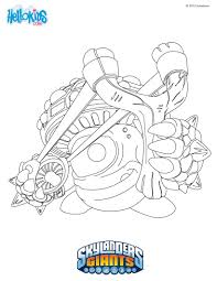 skylander giants coloring pages free large images