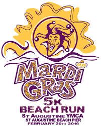 st augustine ymca mardi gras beach run saint augustine beach