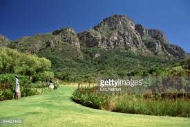 Kirstenbosch National Botanical Gardens by Kirstenbosch National Botanical Garden With Table Mountain Range