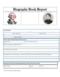 biography book report template pdf fifth grade biography book report homeshealth info