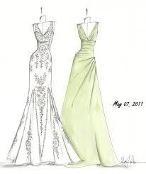 custom gown sketches by megan hamilton hayden olivia bridal