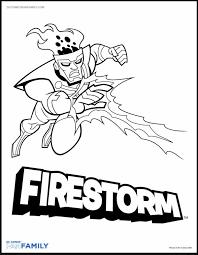 firestorm coloring dccomics firestorm fan