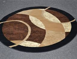 8 Foot Round Area Rugs by Black Round Rugs Faux Fur Rugs For Western And Lodge Theme Decor
