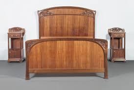 chambre majorelle louis majorelle chambre à coucher à décor de lavatères et