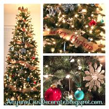 diy burlap tree garland hometalk