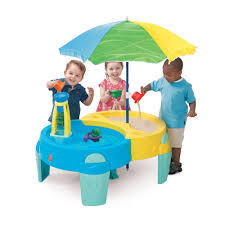 step 2 sand and water table shady oasis sand water play table kids sand water play step2