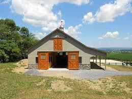 Large Barn Custom Pleasure Barn Precise Buildings