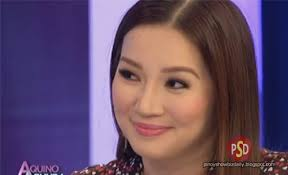 watch kris aquino make faces to fortun s answers on aquino and