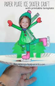 paper plate ice skate craft u2013 the pinterested parent