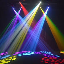 30w led moving effect light 8 rotary pattern dmx 512 stage