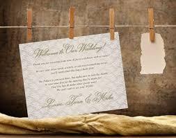 personalized wedding welcome bags 46 best new years wedding welcome bags door hangers water