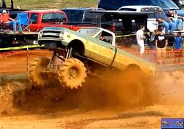 monster truck in mud videos monster truck photo album