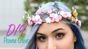 flower crowns diy flower crown