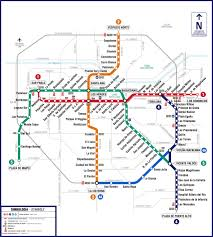 Map Program Official Map Metro De Santiago Chile Here U0027s Transit Maps