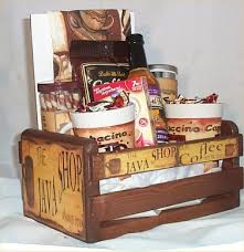 gift mugs with candy coffee gift basket cafe java 2 mugs candy towel cookies syrup wood